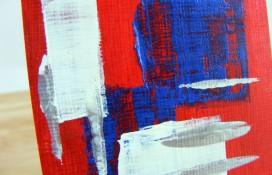 Unwavering Faith aceo abstract art