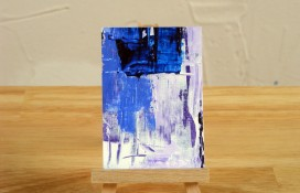 Abstract miniature art