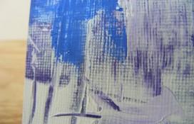 Acrylic aceo art on canvas