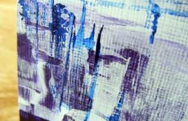 Modern abstract art by Rachelle Antoinette