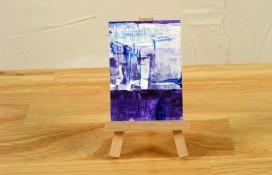 Aceo art acrylic on canvas