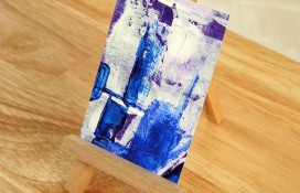 Cosmic Expose Seven aceo art canvas