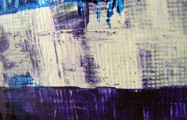 Modern abstract art acrylic on canvas