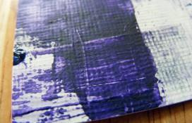 Abstract aceo art acrylic on canvas