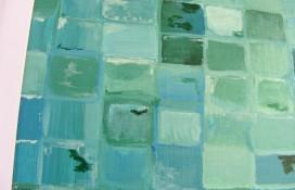 Original small abstract painting
