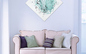 Resin Diamond Abstract Art Painting