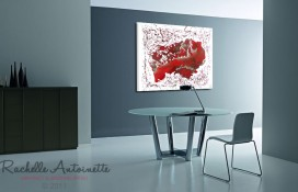 Contemporary Modern Abstract Art on Canvas