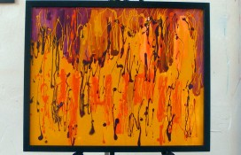 Modern Abstract Painting in Oils