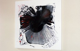 Original Abstract Art on Canvas in Oil Based Paints
