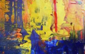 Abstract Modern Art by Yorkshire Artist Rachelle Antoinette