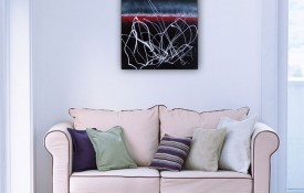 Abstract Contemporary Original Painting by Rachelle Antoinette